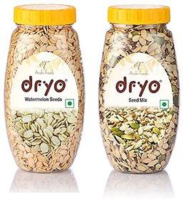 Dryo Combo Watermelon Seeds 250G & Mix Seeds 250G