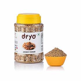 Dryo Pure Natural Premium Sugarcane Jaggery Powder Gur (400 Gram)