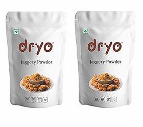 Dryo Pure Natural Premium Sugarcane Jaggery Powder Gur (1.6 Kg)