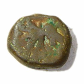 INDIAN OLD COIN - ELICHPUR FEUDATORY 1 PAISA TIGER COPPER COIN