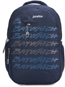 Baywatch 40 Litre Unisex Casual Polyester Laptop Backpack(Navy Blue)