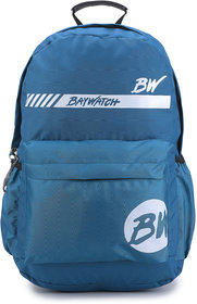 Baywatch 21 Litre Unisex Casual Polyester Laptop Backpack (Turquoise Blue)