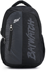 Baywatch BP03 40 Litre Unisex Casual Polyester Backpack (Grey Black)