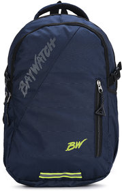 Baywatch 35 Litre Unisex Casual Polyester Laptop Backpack (Navy Blue)