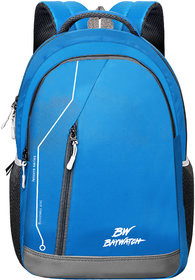 Baywatch 35 Litre Unisex Polyester Casual Laptop Backpack (Blue)