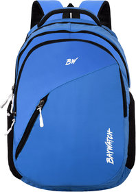 Baywatch 35 Litre Unisex Casual Polyester Laptop Backpack - Blue (Blue)