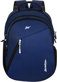 Baywatch 35 Litre Unisex Casual Polyester Laptop Backpack - Blue (Navy Blue)