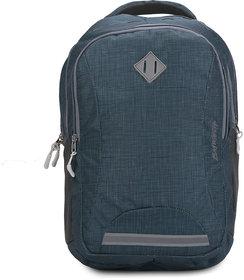 Baywatch BP13 35 Litre Unisex Casual Polyester Khadi Look Laptop Backpack (Dark Green)
