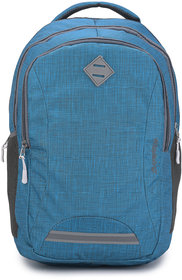 Baywatch BP13 35 Litre Unisex Casual Polyester Khadi Look Laptop Backpack (Green)