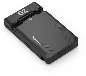 QZ USB 3.1 Enclosure Case for 3.5/2.5 Hard Drive Disk HDD/SSD UASP Enabled
