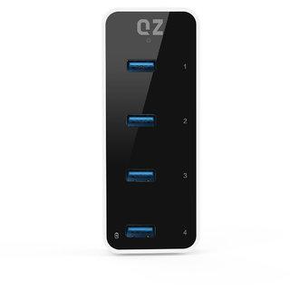 QZ USB 3.1 4 Port Hub, 12V 2A 24W Power