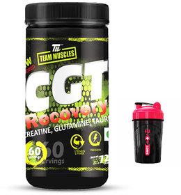TM CGT Recovery  Creatine, Glutamine, Green Apple Free Shaker