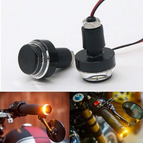 Andride 2X Motorcycle DRL/Turn Signal LED Light Blinker Indicator Handle Bar End