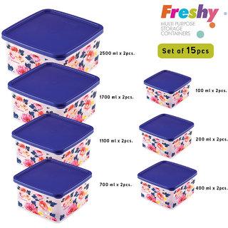 Trueware Freshy Storage Container set of 7 pcs  assorted