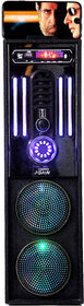 Barry John N95 Tower Speaker with AUX, USB, Bluetooth, FM  MMC Built-in Two 4' WOOFER AC/DC