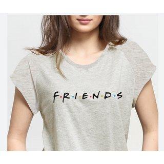Outlaws Women's Grey Friends Raglan Top