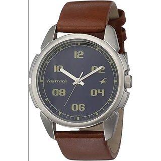 Fastrack Men Analog Brown Watch NK3124SL02