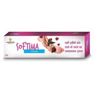 Morvin India SOFTIMA Cream 30 Gm. (Pack Of 3)