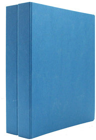 Expo Classic Office D Ring Box File, Documentation, Certificate, File Binder Office File ( Blue - A5 Size ) Pack of 2