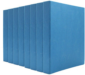 Expo Classic Office D Ring Box File, Documentation, Certificate, File Binder Office File ( Blue - A5 Size ) Pack of 8