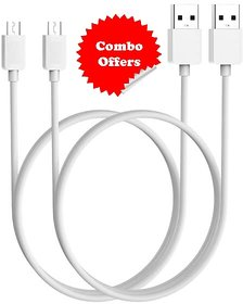 KSJ Micro USB Data Cable Pack Of 2