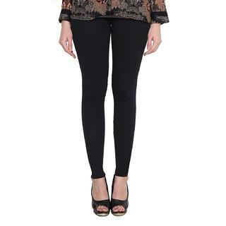Fashion Cloting Women Soft Cotton Leggings (Black)