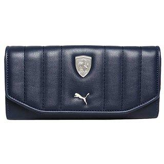Puma Blue Formal Wallet for Women