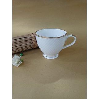 EMBOSSED COFFEE/TEA  CUP - PACK OF  6 CUP