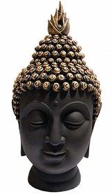 Home Artists - Black Gold Polyresin BuddhaHead