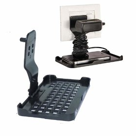 Lazywindow Mobile Charging Stand Wall Holder for All Mobile Phones