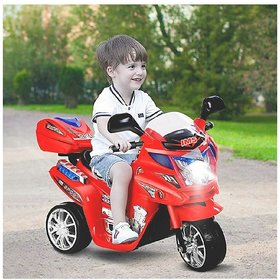 Oh Baby'' Baby Battery Operated Bike With Musical Sound And Back Basket 3-Wheel  Battery Operated Ride On Bike For Your
