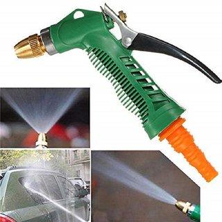 Water Spray Gun - Plastic Trigger High Pressure Water Spray Gun for Car/Bike/Plants/Floor Washing Gardening