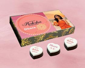 Raksha Bandhan Chocolate Gift Box With Almond Flavour
