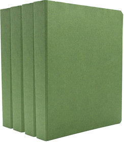 Expo Classic Office D Ring Box File, Documentation, Certificate, File Binder Office File ( Green - A5 Size ) Pack of 4