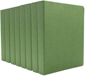 Expo Classic Office D Ring Box File, Documentation, Certificate, File Binder Office File ( Green - A5 Size ) Pack of 8