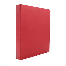 Expo Classic Office D Ring Box File, Documentation, Certificate, File Binder Office File ( Red - A5 Size ) Pack of 1