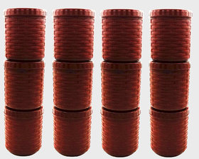 Harsh Pet 500ml Brown Container Set Of 12