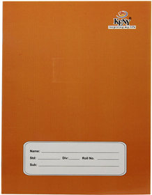 Keny A5 NS5 01 SL Soft Bound Brown Cover Note Book (18 x 24 cm) (76 Pages) (Pack of 12) (Single Line Ruling)