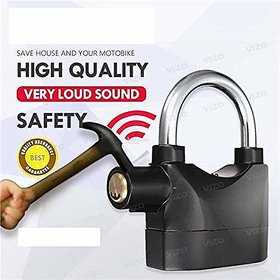 PAYKARS  Anti Theft Burglar Alarm Padlock Electronic Alarm Lock Security Siren for All Type USE