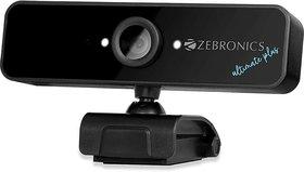 ZEBRONICS Zeb-Ultimate Plus USB Powered high-Resolution Web Camera