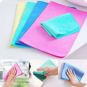 Mapon All Purpose Magic Towel For Home, Kitchen and Outdoor Usage(Assorted Color, Pack of 1)