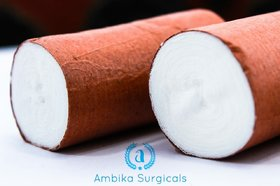 Ambika Traders Absorbent Cotton Roller bandage (5cm x 3m) - 10 Pieces