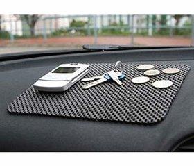 RSN Car Dashboard Anti Slip Mat Car Dashboard Cover (Universal for Car-Black)
