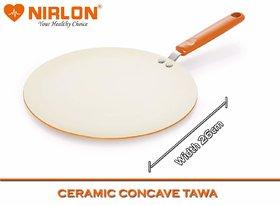 Nirlon Durable Ceramic Nonstick 4 Layer Coating Roti Chapati Dosa Tawa for Effortless Cooking