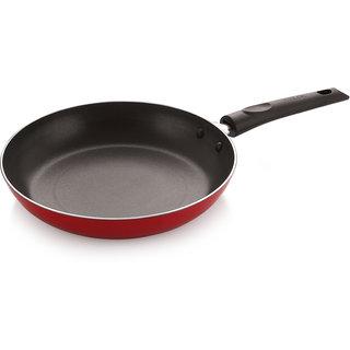 Nirlon Red Aluminum Pfoa Free Non Stick Frying Pan