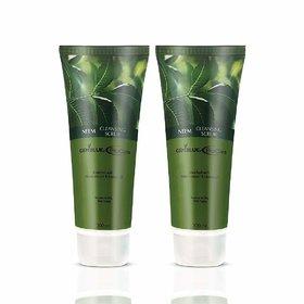 GEMBLUE Biocare Neem Cleansing Face Scrub-200 ML (Pack of 2)