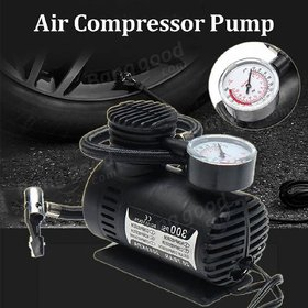 Portable Mini Tyre Inflator Air Compressor Car Auto Portable Pump 260PSI DC 12V