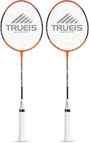 Scorpion Badminton Racquet Classic Pack of 2 PC (Orange)  Classic Badminton Rackets Pack of 2 PC