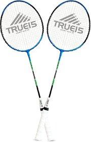 Scorpion Badminton Racquet Classic Pack of 2 PC (Blue)  Classic Badminton Rackets Pack of 2 PC
