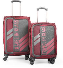 Polo Class 2Pc Set Trolley Bag Luggage Suitcase (20